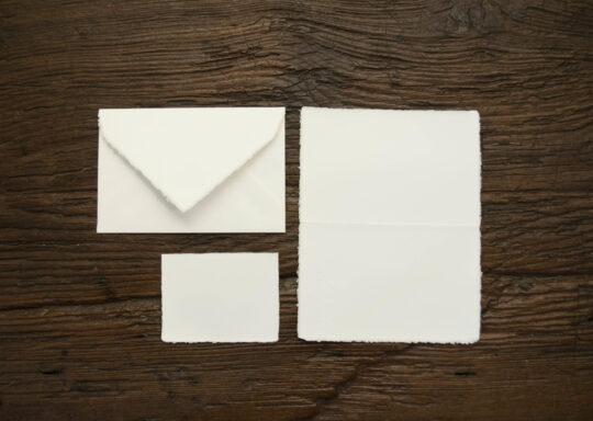 "Folded invitation ""Amatruda"" classic model"