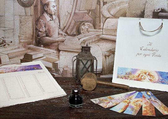 """""""Amatruda"""" permanent calendar"""
