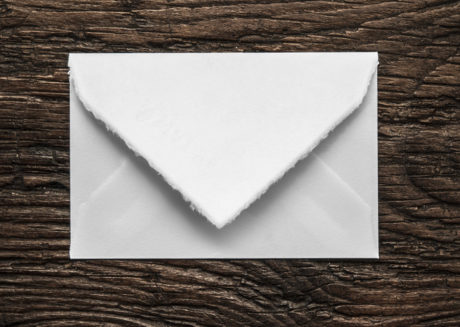 classic envelope - Amalfi model (white)