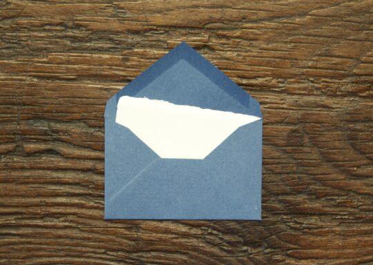 "Small business card ""Amalfi"" model"
