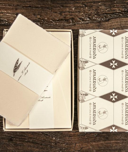 "Postcard format ""Amatruda model (ivory-pink)"